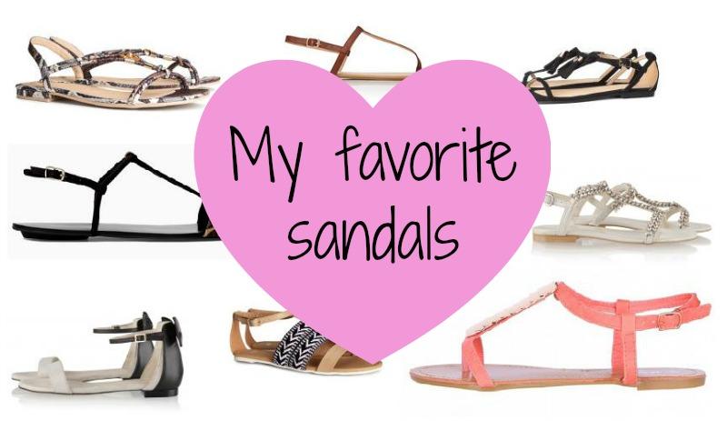 Mijn favoriete sandalen - My favorite sandals