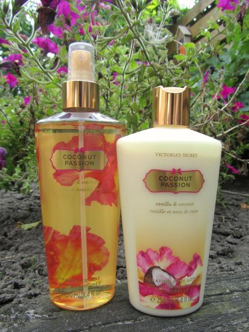 Coconut Passion bodylotion & fragrance mist van Victoria's Secret