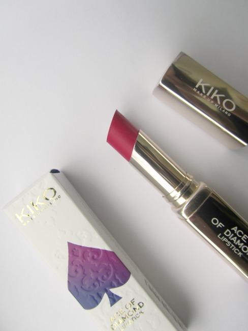 Kiko Ace of diamond lipstick #34