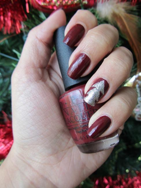 Kerst nail art DIY