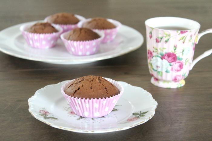 Simpele Nutella cupcakes