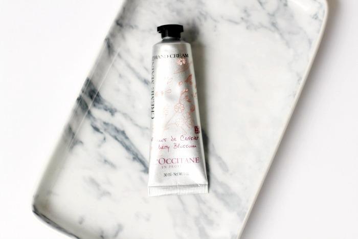L' Occitane Cherry Blossom hand crème
